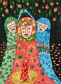 the Persian Princess in BOTTICELLI
