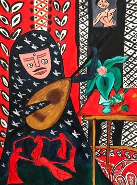 the Persian Princess in MATISSE