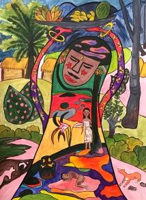 the Persian Princess in GAUGUIN