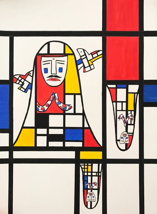 the Persian Princess in MONDRIAN