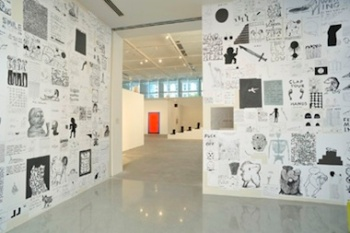 David_Shrigley_Brain_Activity_YBCA_credit_PhocassoJW_White