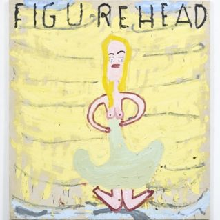 Figure-Head-on-Boat-2017-Oil-on-Canvas-183-x-167-cm-Rose-Wylie-e1520000358808-700x700
