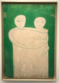 DIVINE LOVE UNITY Oil on hardboard 100 x 85 cm, 1972