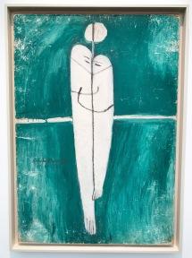LOVE UNDER THE MOONLIGHT Oil on hardboard 100 x 70 cm, 1971