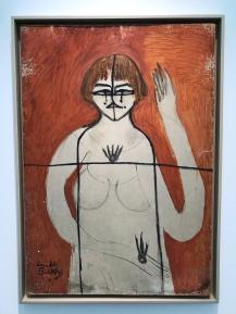 he Art Cause (Self-portrait), 1970 Oil on hardboard 39 2/5 × 27 3/5 in; 100 × 70 cm
