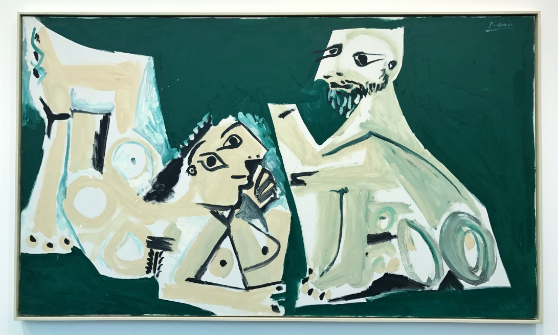 Man and Nude Woman 1965