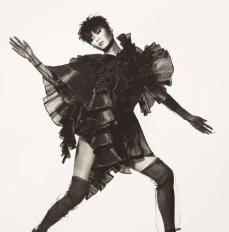 Issey Miyake Seaweed Dress, photographed by Irving Penn, New York, 1987