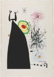 The Conductor 1976 Joan Mir? 1893-1983 Purchased 1980 http://www.tate.org.uk/art/work/P07358