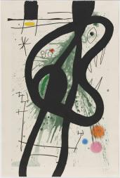The Great Carnivore 1969 Joan Mir? 1893-1983 Purchased 1980 http://www.tate.org.uk/art/work/P07357