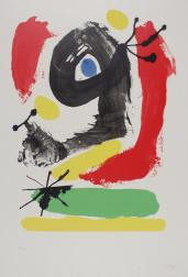 Untitled 1964 Joan Mir? 1893-1983 Presented by Rose and Chris Prater 1975 http://www.tate.org.uk/art/work/P05474