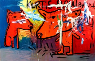 Untitled (Kurtis Blow) 2007 Oil on canvas 200 x 300 cm