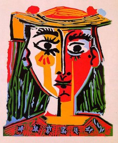 Woman with hat 1962